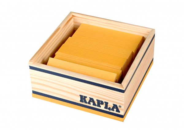 Kapla 40er Quadrat (gelb)