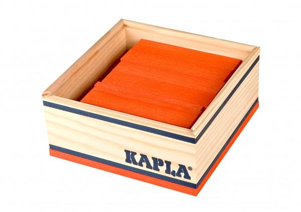 Kapla 40er Quadrat (orange)