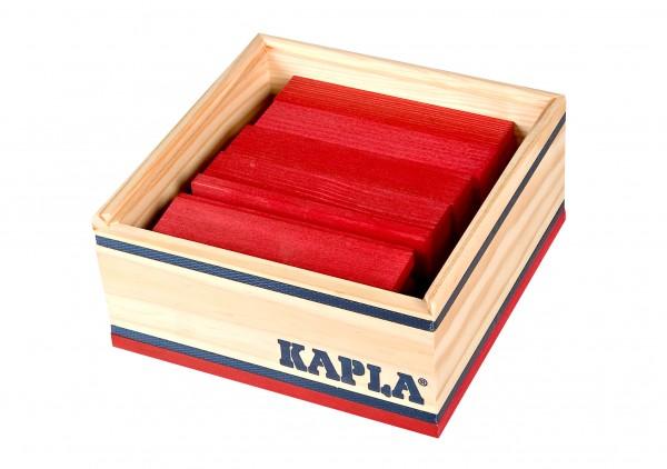Kapla 40er Quadrat (rot)