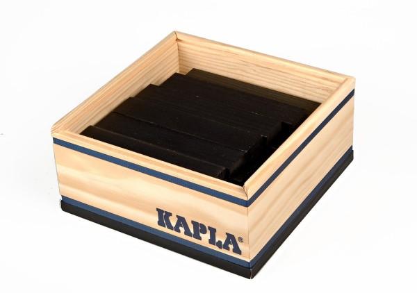 Kapla 40er Quadrat (schwarz)