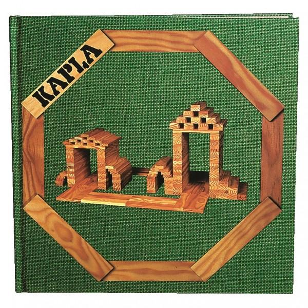 Kapla Kunstbuch Nr. 3 (grün)